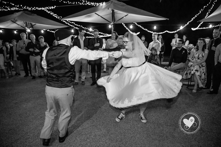 Becca and Evan's Rockabilly wedding