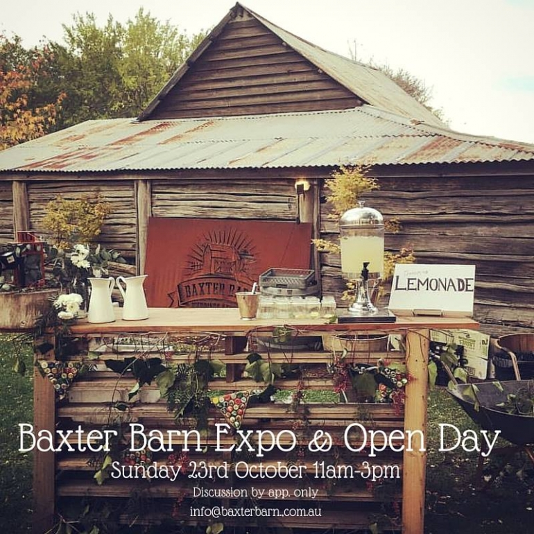 BAXTER BARN OPEN DAY / EXPO - 23/10/16